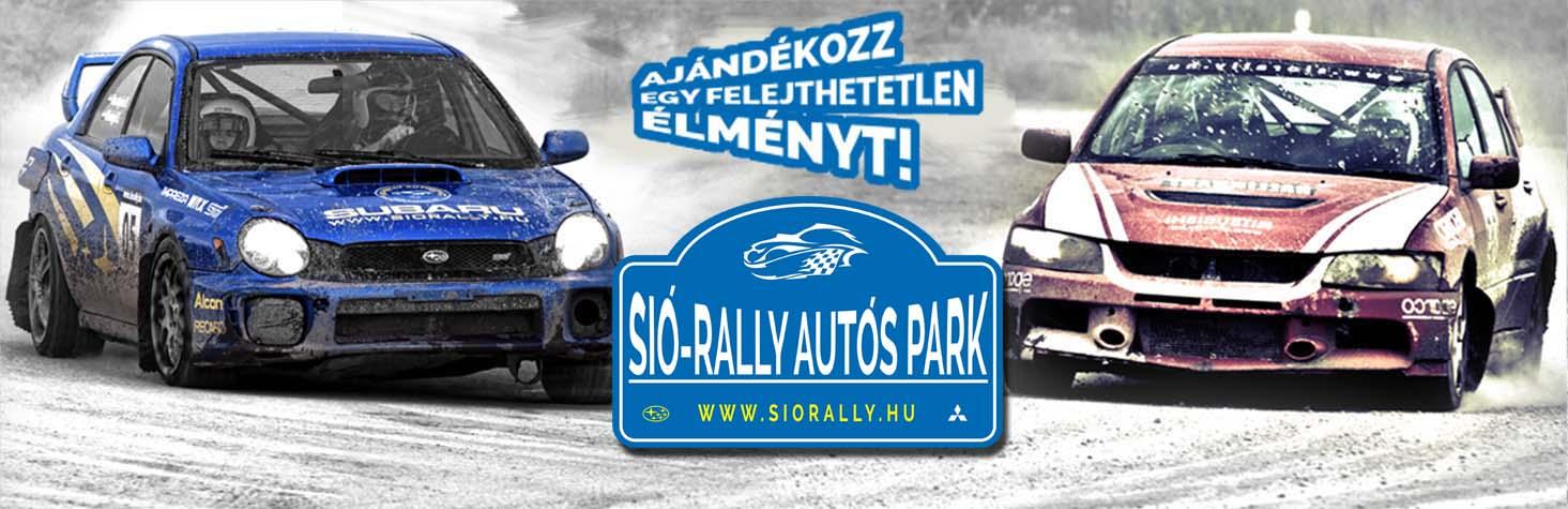 Élményautózás felsőfokon, minden alkalomra ajándék - Sió-Rally Autós Park